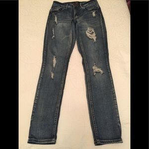 Refuge ripped blue jeans size 2